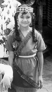 May Chu as a child